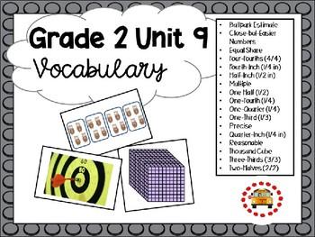 EM4-Everyday Math 4 - Grade 2 Unit 9 Vocabulary