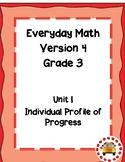 EM4-Everyday Math 4 - Grade 3 Unit 1 IPP
