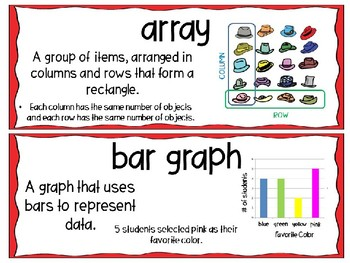 EM4-Everyday Math Grade 3 Unit 1 Vocabulary