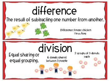 EM4-Everyday Math 4 - Grade 3 Unit 1 Vocabulary