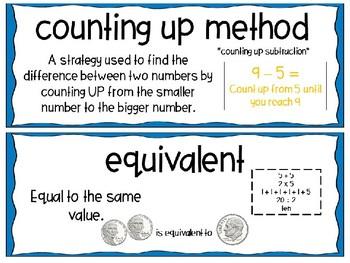 EM4-Everyday Math Grade 3 Unit 3 Vocabulary