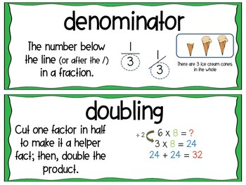 EM4-Everyday Math Grade 3 Unit 5 Vocabulary