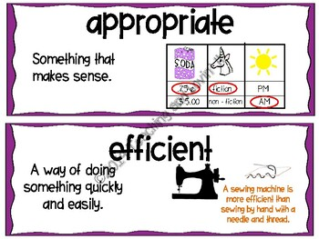 EM4-Everyday Math Grade 3 Unit 6 Vocabulary