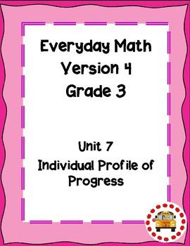 EM4-Everyday Math 4 - Grade 3 Unit 7 IPP