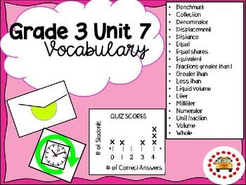EM4-Everyday Math Grade 3 Unit 7 Vocabulary