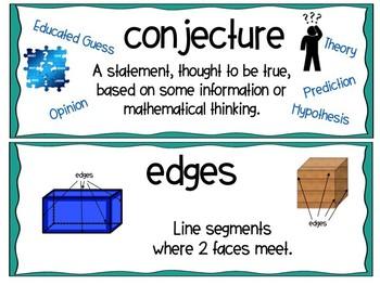 EM4-Everyday Math 4 - Grade 3 Unit 8 Vocabulary