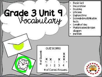 EM4-Everyday Math Grade 3 Unit 9 Vocabulary