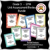 EM4-Everyday Math 4 - Grade 3 Study Guide Bundle
