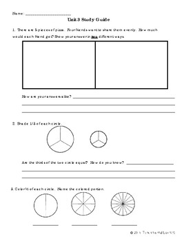 EM4-Everyday Math 4 - Grade 4 Unit 3 Study Guide