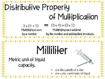 EM4-Everyday Math Grade 4 Unit 4 Vocabulary
