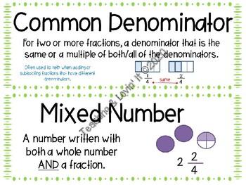 EM4-Everyday Math 4 - Grade 4 Unit 5 Vocabulary
