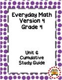 EM4-Everyday Math 4 - Grade 4 Unit 6 Cumulative Assessment