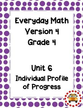EM4-Everyday Math Grade 4 Unit 6 IPP