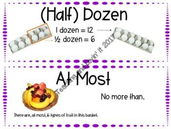 EM4-Everyday Math Grade 4 Unit 6 Vocabulary