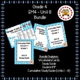 EM4-Everyday Math 4 - Grade 4 Unit 8 Bundle