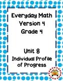 EM4-Everyday Math 4 - Grade 4 Unit 8 IPP