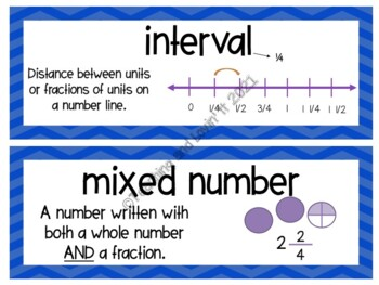 EM4-Everyday Math 4 - Grade 5 Unit 3 Vocabulary