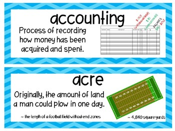 EM4-Everyday Math 4 - Grade 5 Unit 8 Vocabulary