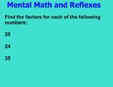 EM4 - Everyday Math Unit 4 - Grade 4 (Common Core Aligned)