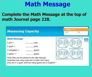 EM4 - Everyday Math Unit 7 - Grade 4 (Common Core Aligned)