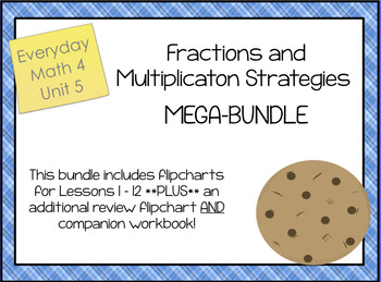 EM4; Grade 3; Unit 5, Fractions and Multiplication, MEGA BUNDLE