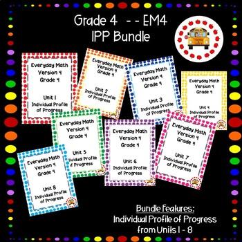 EM4-Everyday Math Grade 4 IPP Bundle