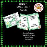EM4-Everyday Math 4 - Grade 4 Unit 5 Bundle