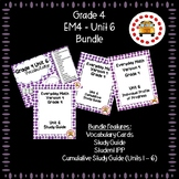 EM4-Everyday Math 4 - Grade 4 Unit 6 Bundle
