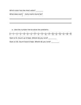 EM4: Unit 1 Study Guide: 1st Grade
