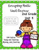 EM4 Unit 4 Review for Second Grade