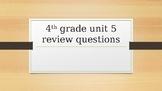 EM4 Unit 5 Test Review PP