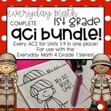 EM4 Units 1-9 FULL GROWING BUNDLE ACI Booklets for First Grade