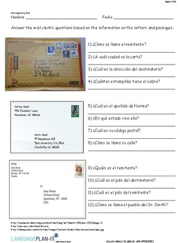 EMAIL AND INTERNET (SPANISH)