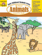 All About Animals Around the World (Enhanced eBook)