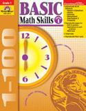 Basic Math Skills, Grade 1 (Enhanced eBook)