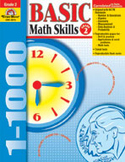 Basic Math Skills, Grade 2 (Enhanced eBook)