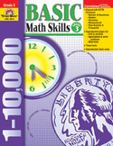 Basic Math Skills, Grade 3 (Enhanced eBook)
