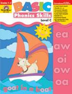 Basic Phonics Skills, Level C, Grades 1,2 (Enhanced eBook)