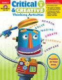 Critical and Creative Thinking Activities, Grade 3 (Enhanced eBook)