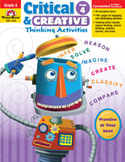 Critical and Creative Thinking Activities, Grade 4 (Enhanced eBook)
