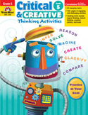 Critical and Creative Thinking Activities, Grade 5 (Enhanced eBook)