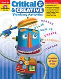 Critical and Creative Thinking Activities, Grade 6 (Enhanced eBook)