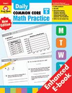 Daily Common Core Math Practice, Grade 5 e-book