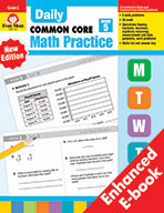 Daily Common Core Math Practice, Grade 5 e-book