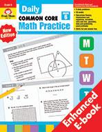 Daily Common Core Math Practice, Grade 6+ e-book