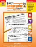 Daily Geography Practice: Grade 5 (Enhanced eBook)