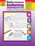 Daily Handwriting Practice: Traditional Manuscript (Enhanced eBook)