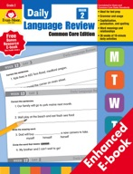 Daily Language Review, Common Core Edition, Grade 2 - e-book