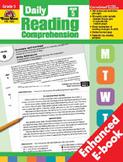 Daily Reading Comprehension, Grade 5 (Enhanced eBook)