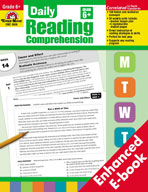 Daily Reading Comprehension, Grade 6+ (Enhanced eBook)